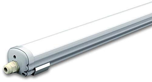 V-TAC LED-lamp, T5, 36 W, wit, kap x largeur x Profondeur : 1200 mm x 86 mm x 72 mm