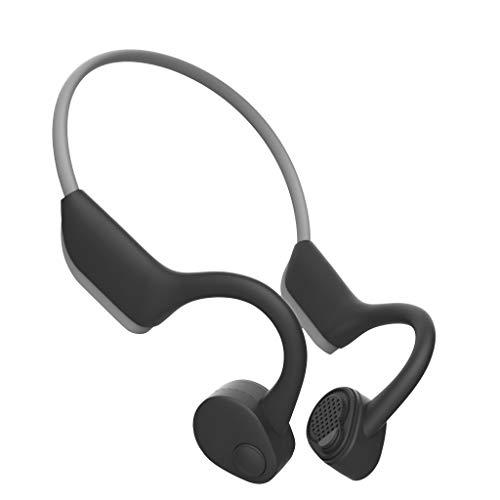 Marxways J20 Open-Ear - Auriculares Bluetooth 5.0 con conductor, inalámbricos, con manos libres, resistentes al sudor, con micrófono, para ciclismo, correr, conducir o gimnasio