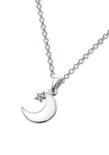 Laimons Colgantes con collar para mujer Luna...