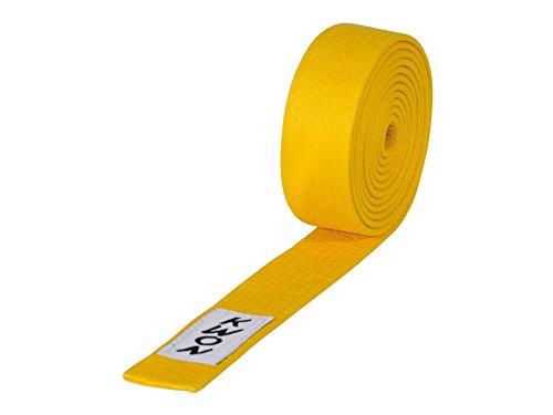 KWON Budogürtel 4 cm breit 280 gelb
