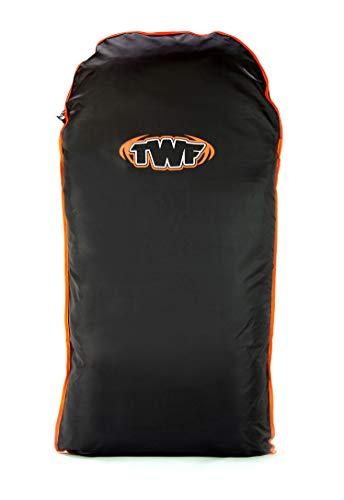 TWF 1040-ONE-00 Bodyboard Tasche, Schwarz, Einheitsgröße