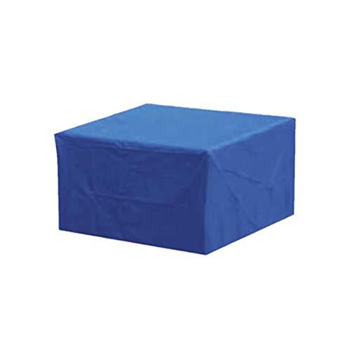 AMDHZ Funda Mesa Jardin Azul Sofa Exterior Funda Impermeable para Muebles Paño Oxford 210D Funda para Silla De Sofá Cubierta De Lluvia, Nieve Y Polvo (Color : Blue, Size : 230X165X70cm)