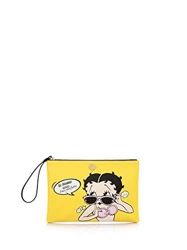 LE PANDORINE Borsa tracolla pop pochette sguardi yellow betty boop collezione 2019
