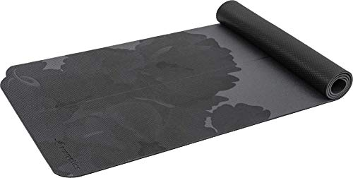 ENERGETICS Unisex– Erwachsene Yoga-Matte-410526 Yoga-Matte, Grey Dark/BLAC, 172 x 61 x 0,6 cm