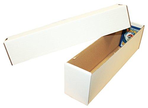 TCG Aufbewahrungsbox (weiß, klein) für ca. 1000 Karten Aller Größen