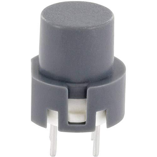 TRU Components TC-D6GR Impulstaster 35 V/DC 0.01 A tastend 1 St.
