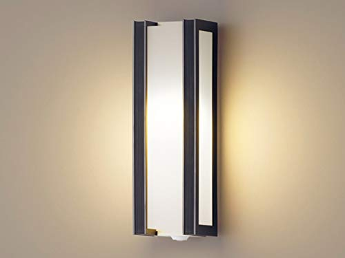 パナソニック LED 玄関灯 ポーチライト 縦型 明るさセンサー 人感センサー付 電球色 HH-SF0012L