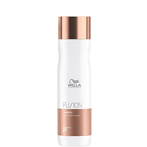 Wella Fusion Repair Shampoo, shampoo riparatore, confezione da 1 (1x 250ml) (etichetta in lingua italiana non garantita)