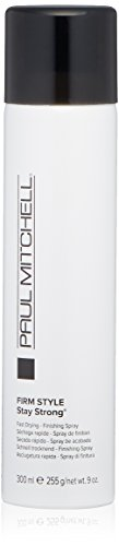 Paul Mitchell Stay Strong Hairspray, Long-Lasting Hold, Humidity-Resistant