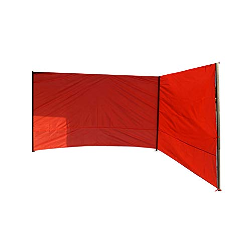 Gazebo Tent Side Panels,6x2m Replacement Side Wall Panel for 3x3m Tent,Cover Two Sides,Waterproof Anti-UV Gazebo Sidewall without Windows,Red(Only Tent Side Panel)