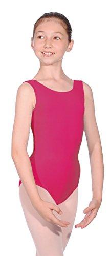 Mädchen ISTD Ballett Dance Gymnastikanzug Pflaume/Cherry Größen 2–13Years Gr. 6 Jahre, plum/cherry