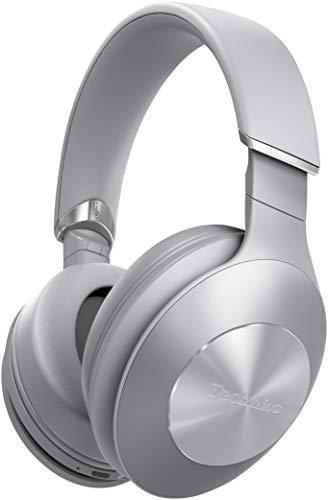 Technics EAH-F50B Premium Bluetooth Kopfhörer Over Ear (High Resolution Audio, kabellos, 35h Akku, Schnellladen) silber