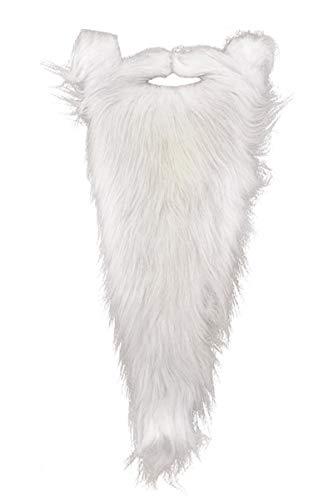 Forum Novelties Men's Novelty Wizard Beard, White, One Size