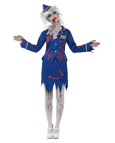 Zombie azafata Traje
