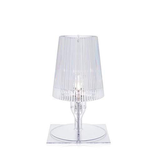 Kartell Nachttischlampe Take glasklar 9050B4