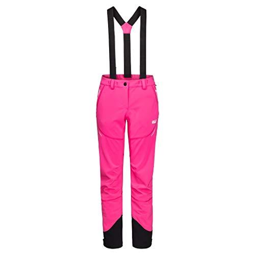 Jack Wolfskin Gravity Tour Pantalon Femme, Pink Fuchsia, FR : XL (Taille Fabricant : 46)