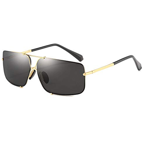WWFF Herren/Damen Ultradünne Bordüre Ultraleichte Polarisierte Reise Reiten Fahren Outdoor Sport Strand Meer Sonnenbrille UV400 Schutz...