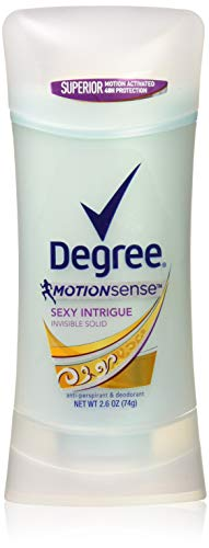 (Pack of 3) Degree MotionSense for Women, Sexy Intrigue Invisible Solid, 2.6 oz each by Degree