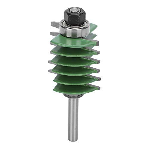 Acero de tungsteno Router Bit carpintería Fresa dedo Joint Router Bit de alta resistencia para procesamiento de madera Herramienta de carpintería