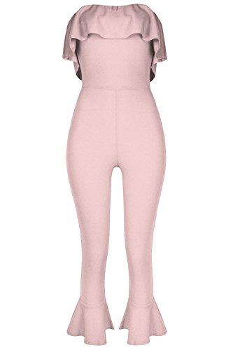 Fashion Star Damen Jumpsuit * Einheitsgröße Gr. 38, nude