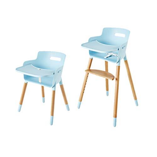 en Bois Ergonomique Chaise Haute Chaise de Salle à Manger pour bébé Portable Multifonction Les Enfants apprennent à s'asseoir sur la Chaise de Table Structure Ultra-Stable Facile à Nettoyer