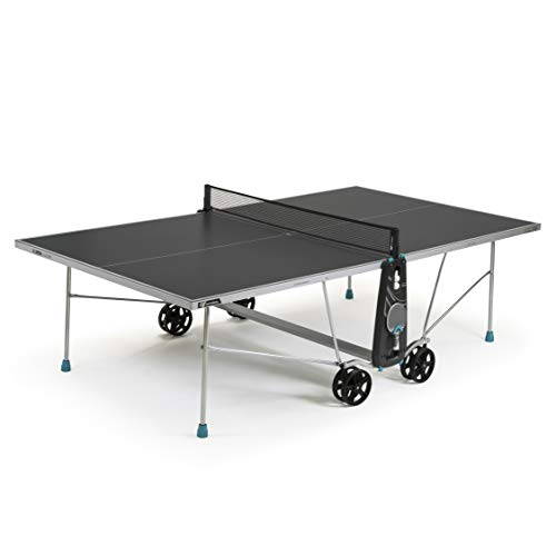 Cornilleau Sport 100X Outdoor Crossover Tennis Table - Grey, one size, 115300