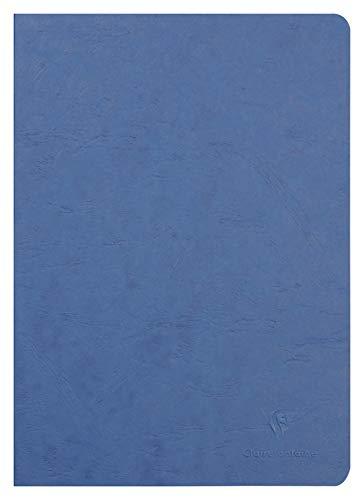 Clairefontaine 733004C Heft AgeBag (DIN A4, 21 x 29,7 cm, blanko, ideal für Ihre Notizen und Zeichnungen, 48 Blatt) 1 Stück blau