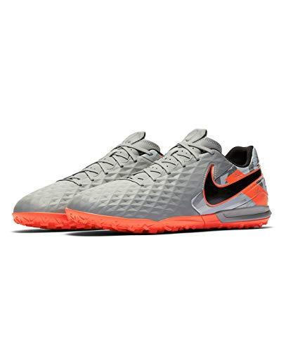 Nike Legend 8 Academy TF, Zapatillas de fútbol Unisex Adulto, Mtlc Bomber Gry Black Particle Grey, 42.5 EU