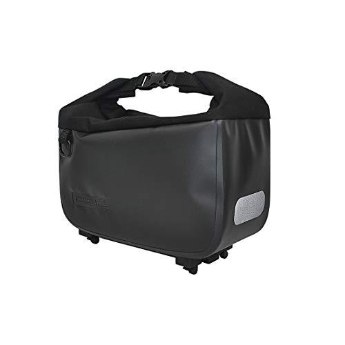 Racktime Unisex– Erwachsene Yves Wd Gepäckträgertasche, schwarz, Einheitsgröße