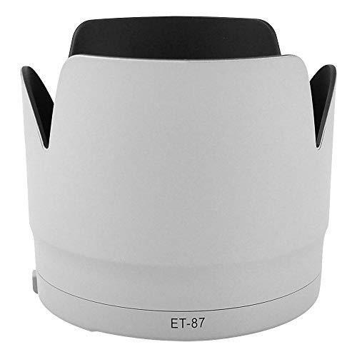CELLONIC® Paraluce ET-87 Compatibile con Obiettivo Canon EF 70-200mm 1:2,8L IS II USM Parasole, Cappuccio Macchina Fotografica, Paraluce di Lente, Visiera di Sole