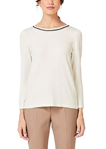 s.Oliver BLACK LABEL Damen 11.910.61.3297 Pullover, Elfenbein (Cream White 0220), (Herstellergröße: 40)