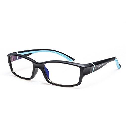 GAFAS DE ORDENADOR PROSPEK: Gafas para ordenador anti luz azul - PEAK. Antirreflejante, antifatiga, protección contra UV y radiación electromagnética de ordenador/TV, antiniebla, antiarañazos ✅