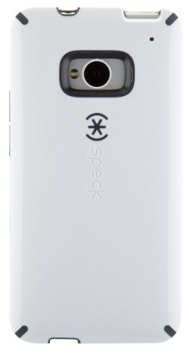 Speck CandyShell Clip-On Case Cover Schutzhülle für HTC One - Weiß/Schiefergrau