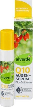 alverde NATURKOSMETIK Augenserum Q10 Bio-Gojibeere, 10 ml