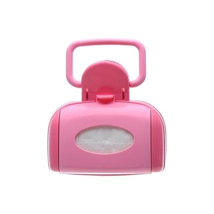 Nincha Dog Pet Pooper Scooper, Pick-up Box, Scoop Jaws, Hond Afval Gemakkelijk Grijpen, Tissue Binnen Blauw en Roze, roze