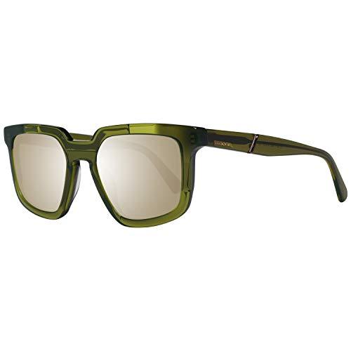 Diesel Sonnenbrille DL0271 5195C Rechteckig Sonnenbrille 51, Grün