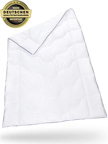 Bettdecke 135 x 200 inSPIRO | Flauschige Schlafdecke mit Feuchtigkeitsmanagement & hoher Atmungsaktivität | Leicht, weich und bequem | Perfekte 4-Jahreszeiten Bett-Decke | Ganzjahresdecke 135x200 cm