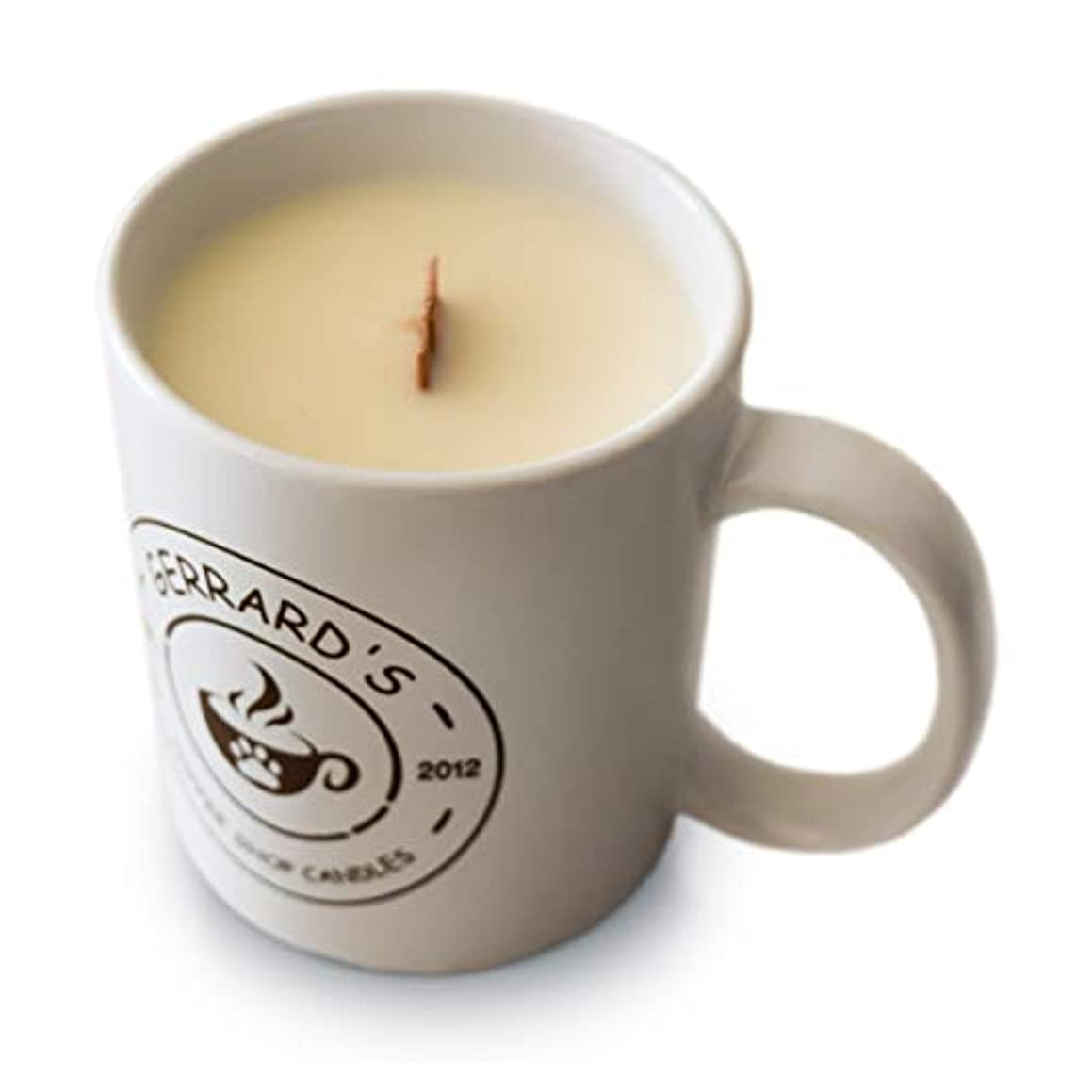 Gerrard's Coffee Shop Candles - Scented Soy Candle with Gift Box, 10 Ounce - Handmade in The USA (Spiced Chai Tea Latte)