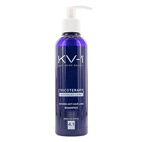 KV1 Intense Anti Hair Loss Shampoo 4.1 200ml, Haarshampoo gegen Haarausfall, Shampoo Anti-Haarverlust, Antihaarverlustshampoo