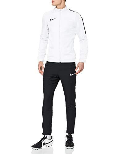 NIKE M NK Dry Acdmy18 Trk Suit W Tracksuit, Hombre, White/ Black/ Black/ Black, M