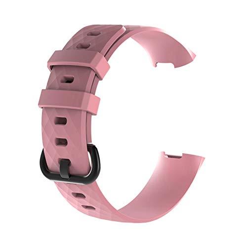 GZA Sport Band for Carga 3 CHARGE3 Banda Soft TPU Smart Watch Start STRUT Mujer BRAZA Pulsera Accesorios (Color : Large Size 03)