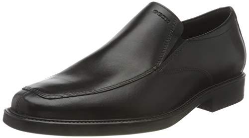 Geox Mens U BRANDOLF C Loafer, Black,41 EU