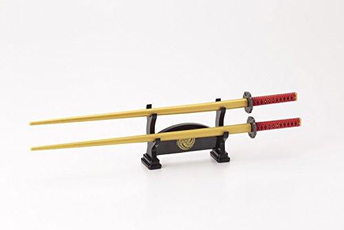Samuraihashi japanischen Schwert Kanbee Kuroda (mit KatanaKake Tabellentyp Bankchen)