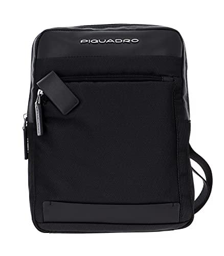Piquadro Collezione Klout Borsello in Pelle porta tablet, Nero CA1816S100