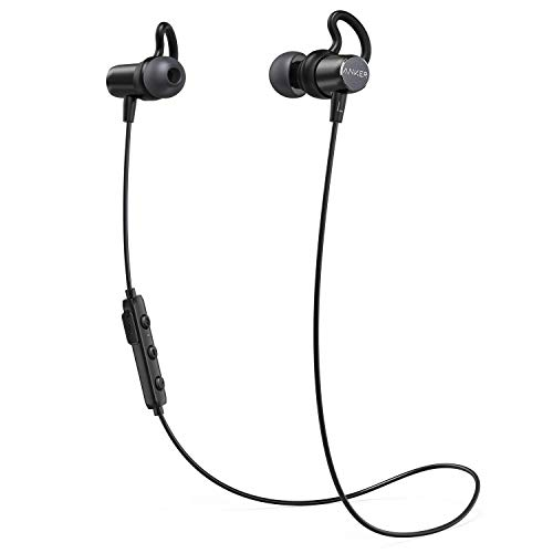 Anker Sound Surge Bluetooth Headphones Buds In Ear Magnetic Headphones...