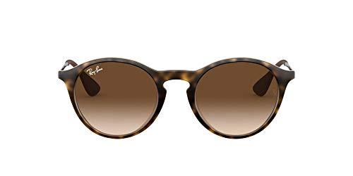 Ray-ban Mod. 4243 - Gafas de sol unisex, color marrón (rubber havana), talla 49