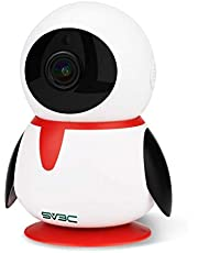SV3C ネットワークカメラカメラ ipカメラ PTZ 防犯カメラ WiFi 1080P 室内用 ベビー/老人/ペット 見守り 回転可能 双方向音声 夜間監視可能 動体検知システム搭載 クラウンドストレージ/SDカード対