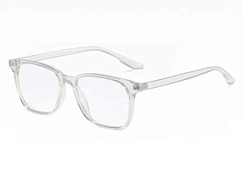 Framed Blue Light Blocking Glasses - Paxos (Clear)