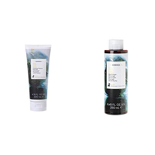 Korres Guave feuchtigkeitsspendende Körpermilch, 1er Pack (1 x 200 ml) & Guava Duschgel,1er Pack (1 x 250 ml)