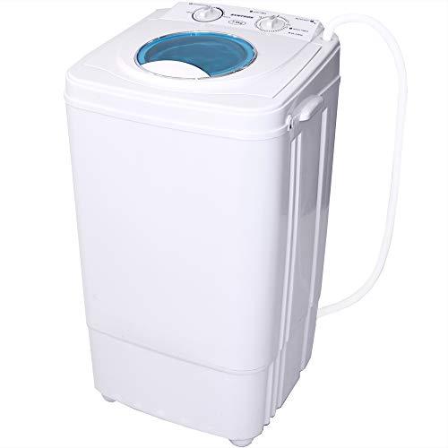 Syntrox Germany A 7 Kg Waschmaschine mit Schleuder Campingwaschmaschine Mini Waschmaschine